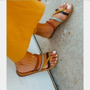 Shoes - 🆕️//The Justine// multi color strappy sandal